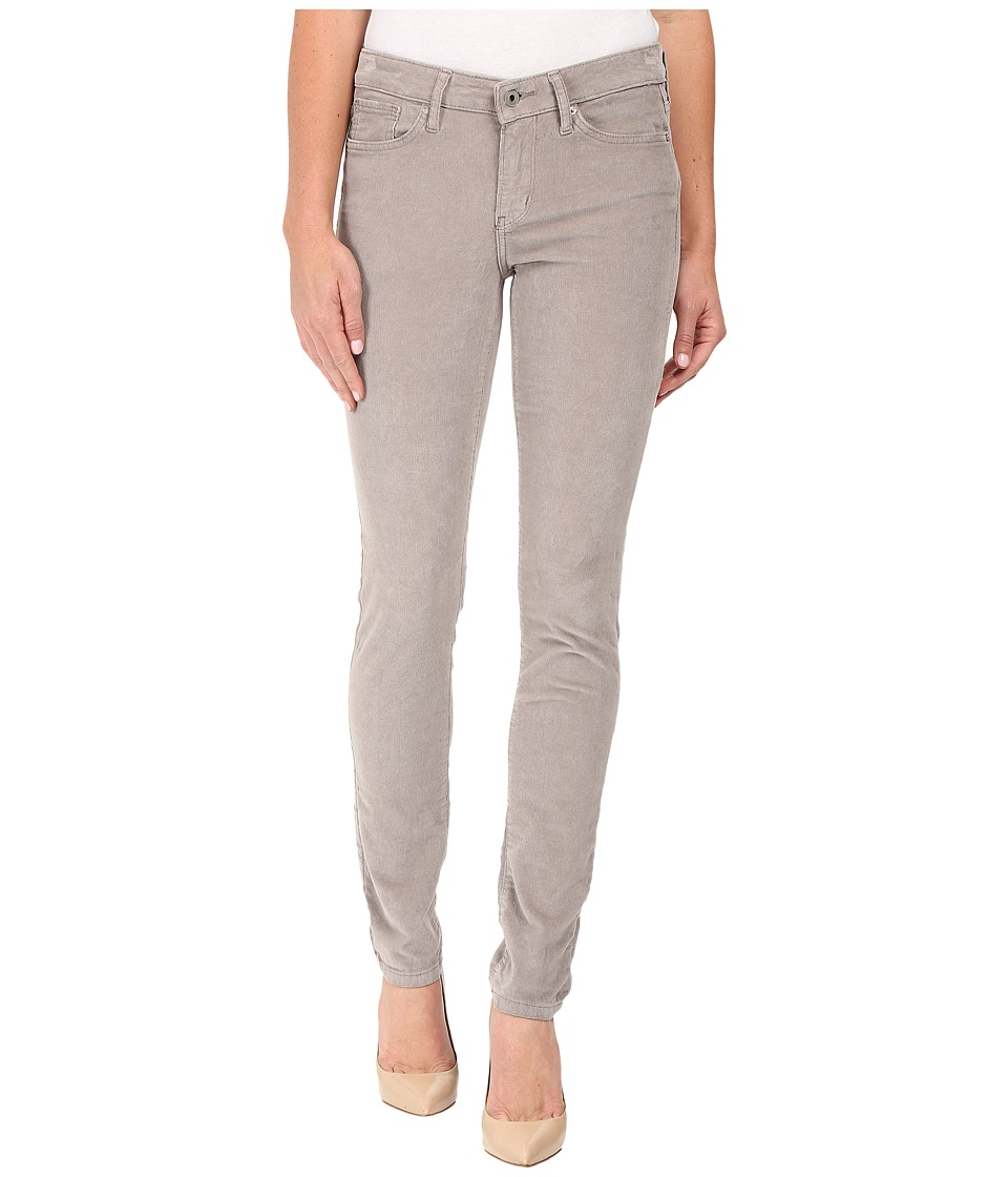 Calvin Klein Jeans Garment Dyed Corduroy Ultimate Skinny (Steeple Gray) Women