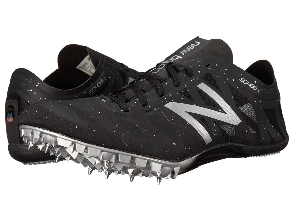 New Balance - SD400V2 (Black/Silver) Men's Shoes