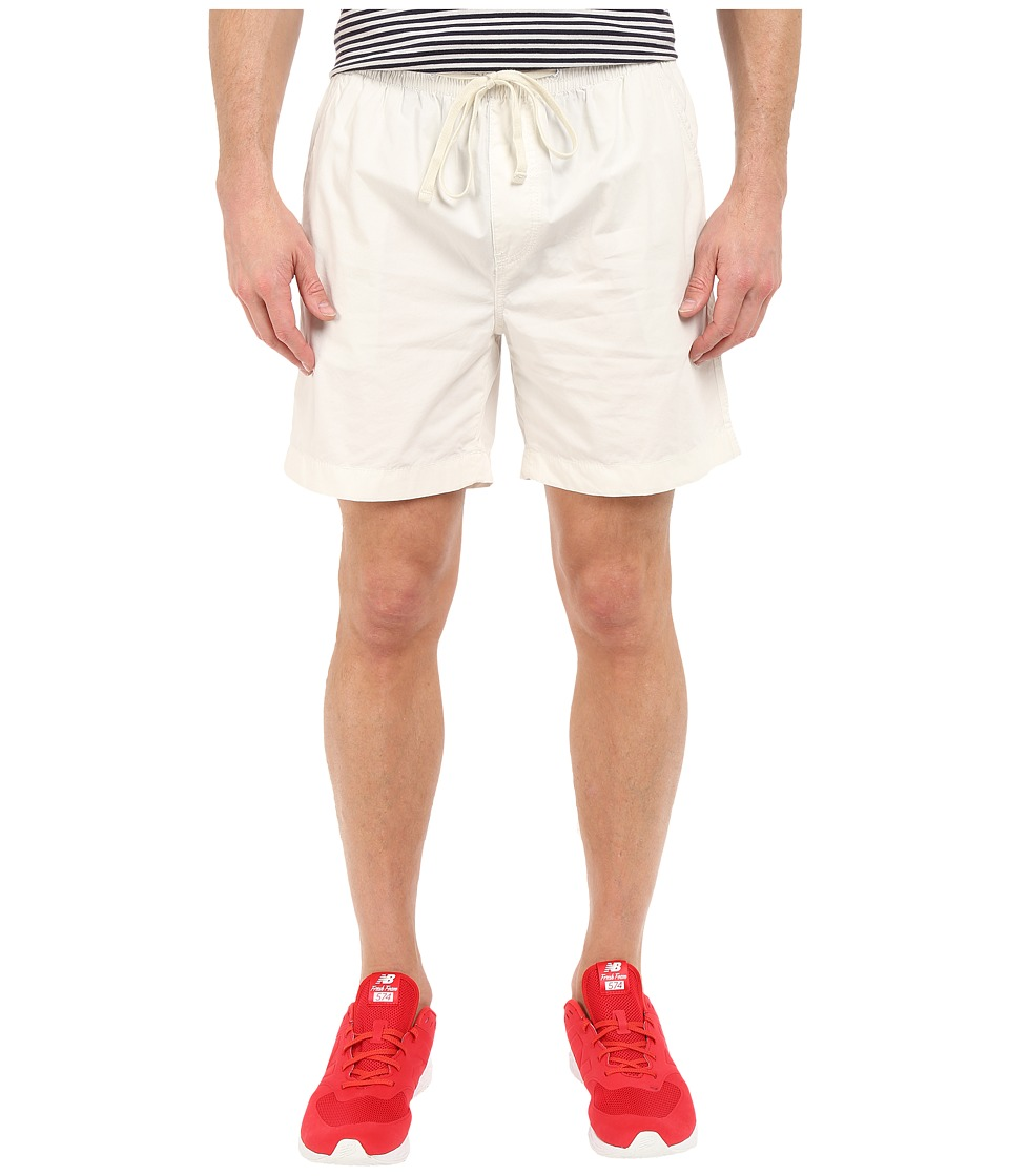 Nautica - Drawstring Shorts Cotton (Marshmallow) Men's Shorts