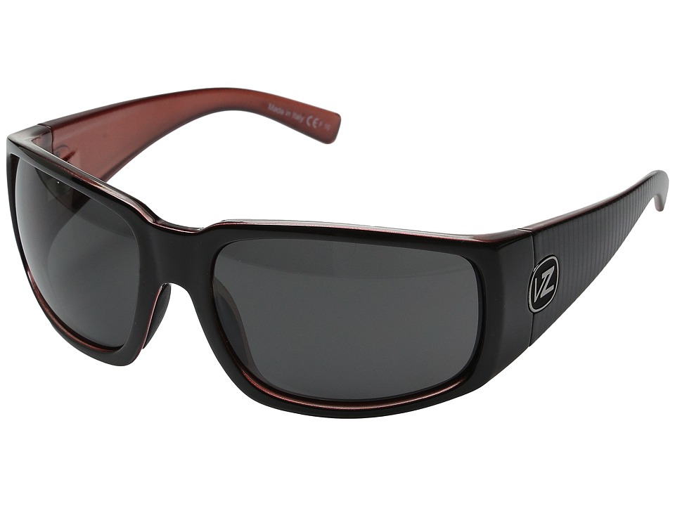 VonZipper - Palooka (Lux Black Red/Grey) Sport Sunglasses