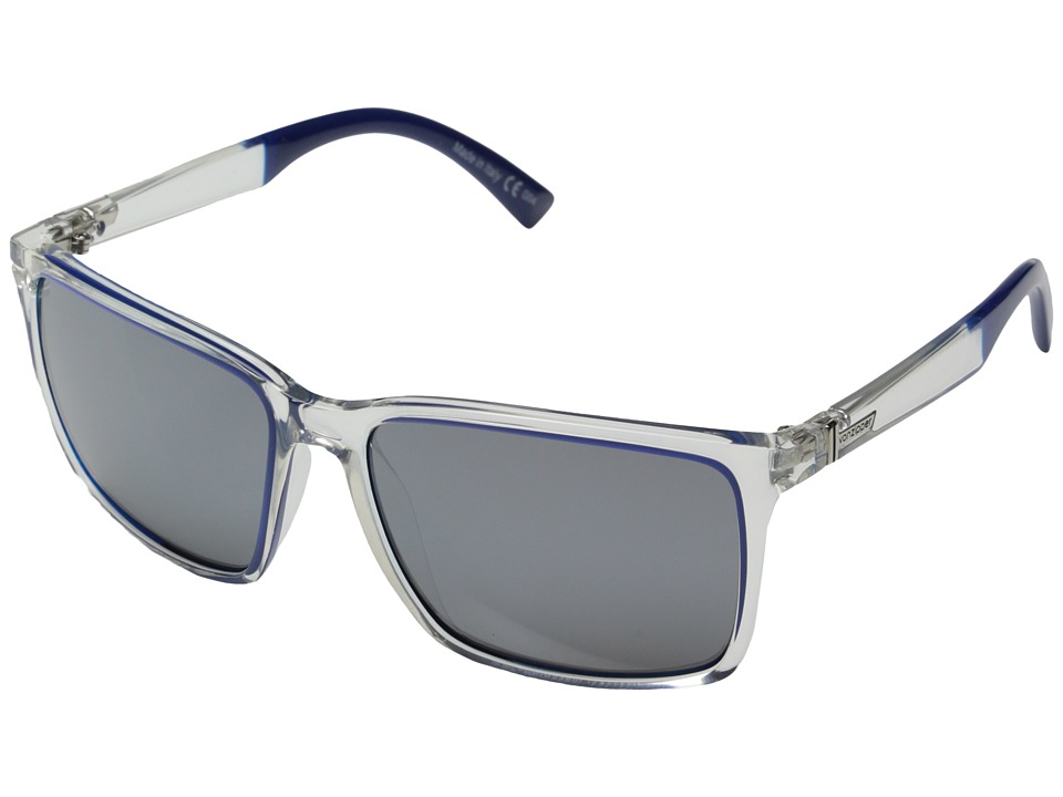 VonZipper - Lesmore (Crysal Cobalt Dip/Grey Chrome) Sport Sunglasses
