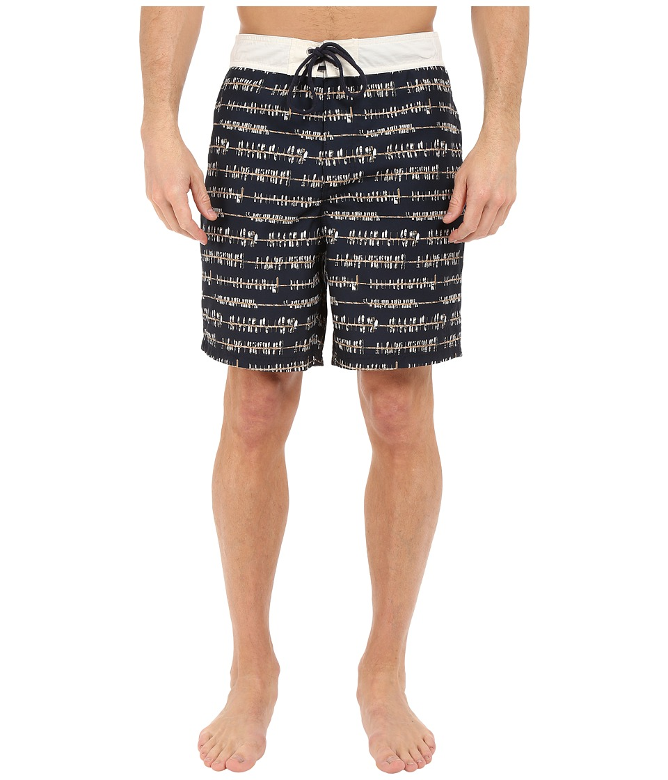 Nautica - Boat Dock Trunk (True Navy) Men's Swimwear
