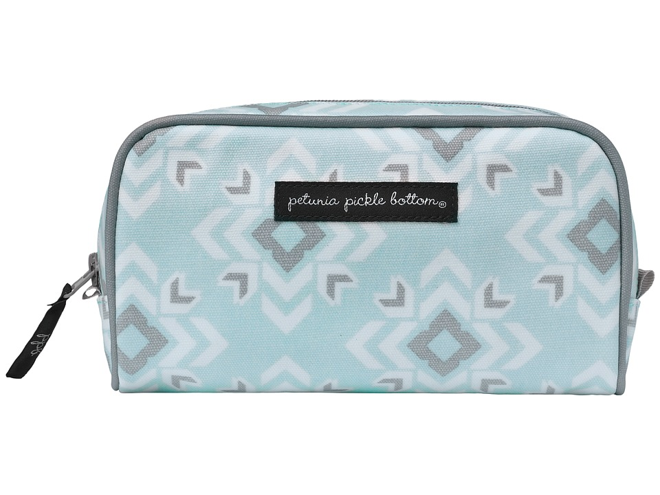 petunia pickle bottom - Glazed Powder Room Case (Sleepy San Sebastian) Cosmetic Case