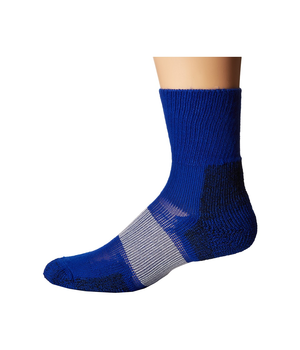 Thorlos - Cleated Crew 1-Pack Pair (Varsity Royal) Crew Cut Socks Shoes