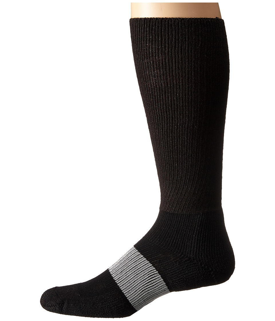 Thorlos - Cleated Sports Over Calf Single Pair (Varsity Black 1) Crew Cut Socks Shoes