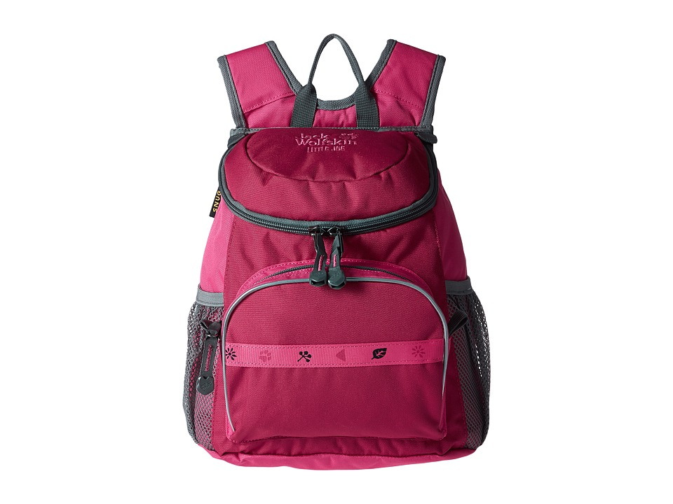 Jack Wolfskin - Little Joe (Kids) (Azalea Red) Backpack Bags