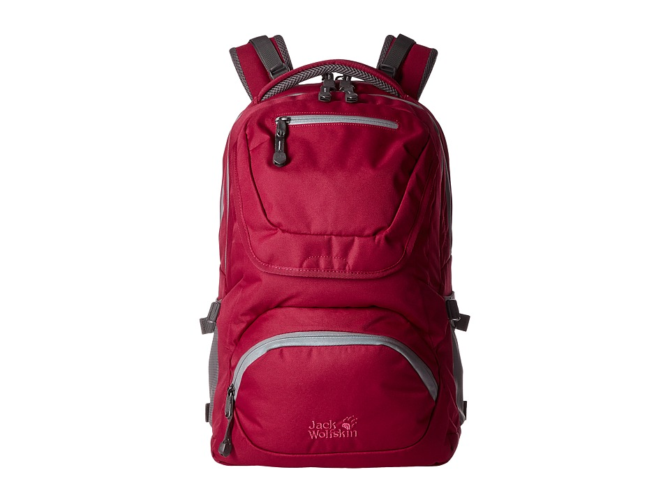 Jack Wolfskin - Ramson 26 Pack (Kids) (Azalea Red) Backpack Bags