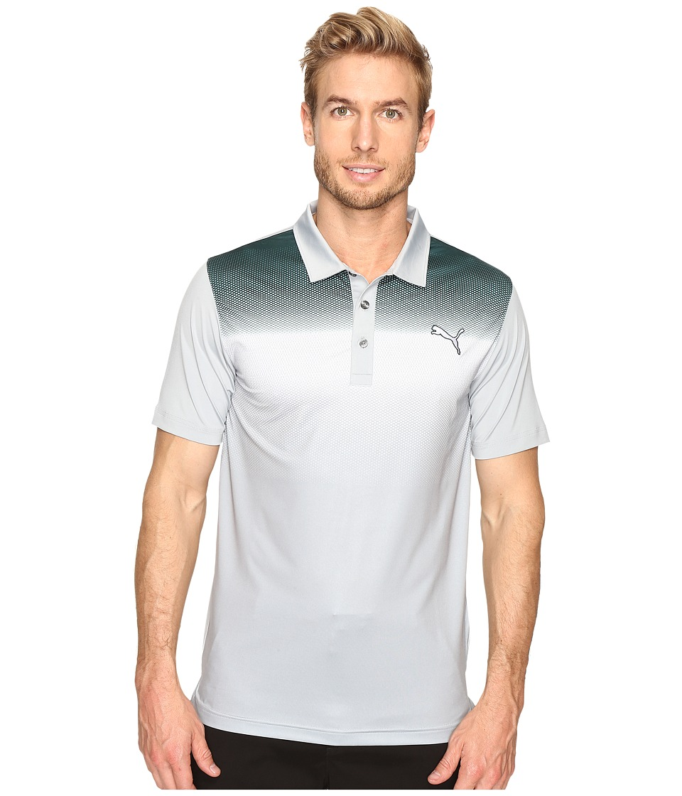 PUMA Golf - GT Glow Polo (Quarry) Men's Clothing