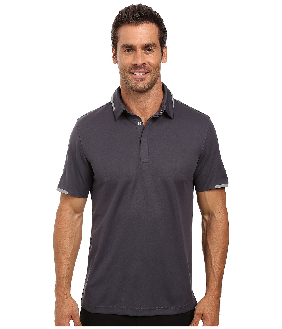 PUMA Golf - Short Sleeve Tailored Snap Polo (Periscope) Men's Short Sleeve Pullover
