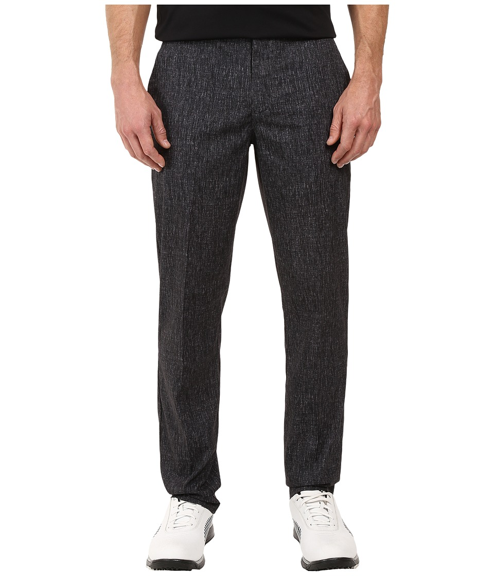 PUMA Golf - Texture Print Pants (Black) Men's Casual Pants