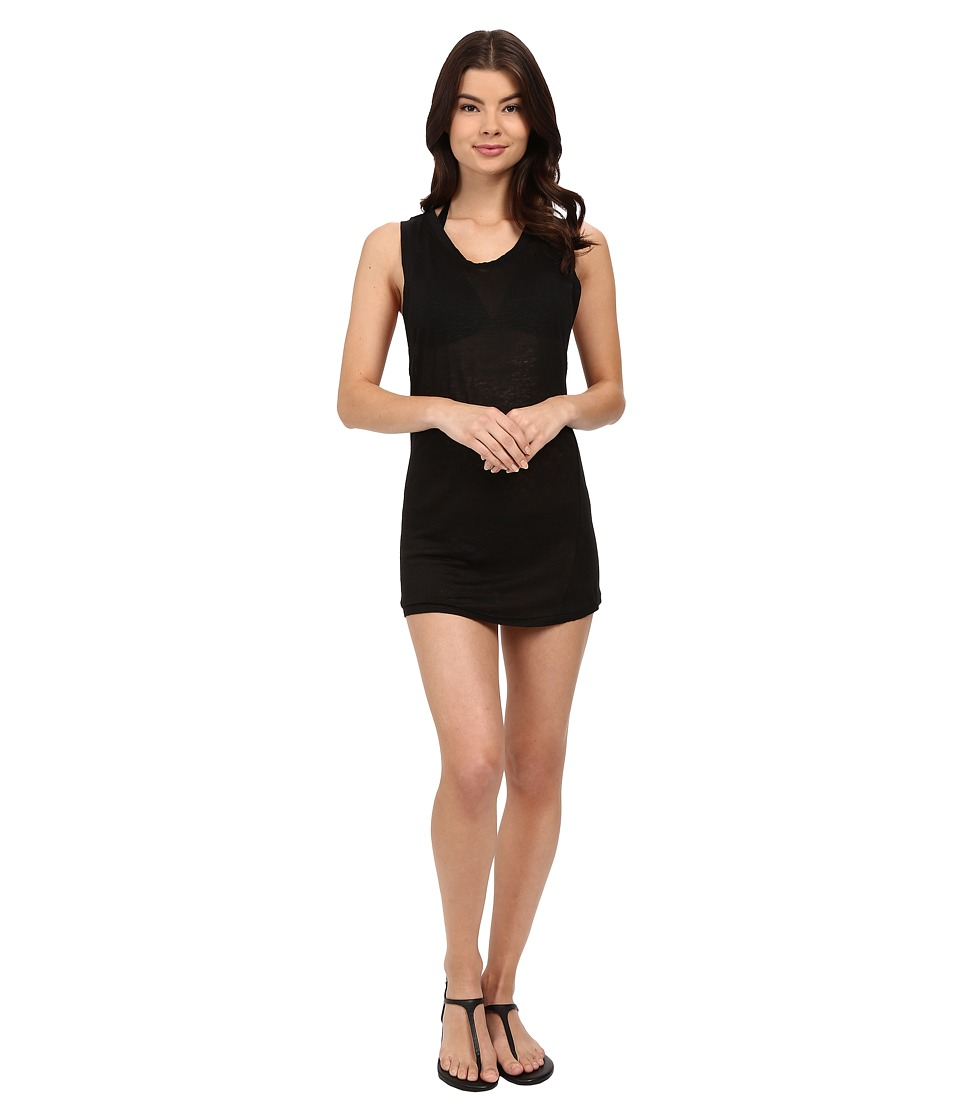 MIKOH SWIMWEAR - Prague Mini Dress Cover-Up (Night) Women's Swimwear