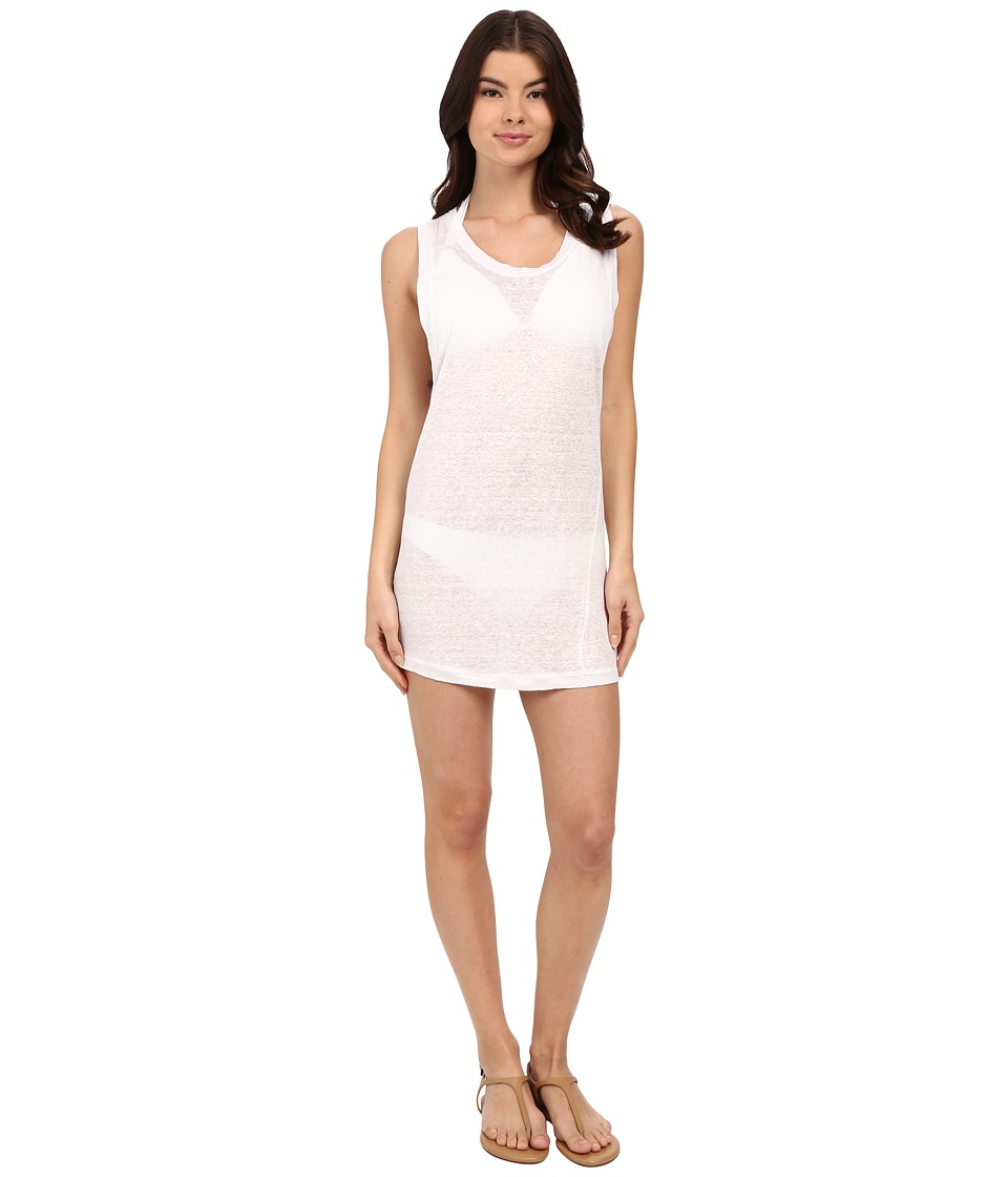 MIKOH SWIMWEAR - Prague Mini Dress Cover-Up (Foam) Women's Swimwear
