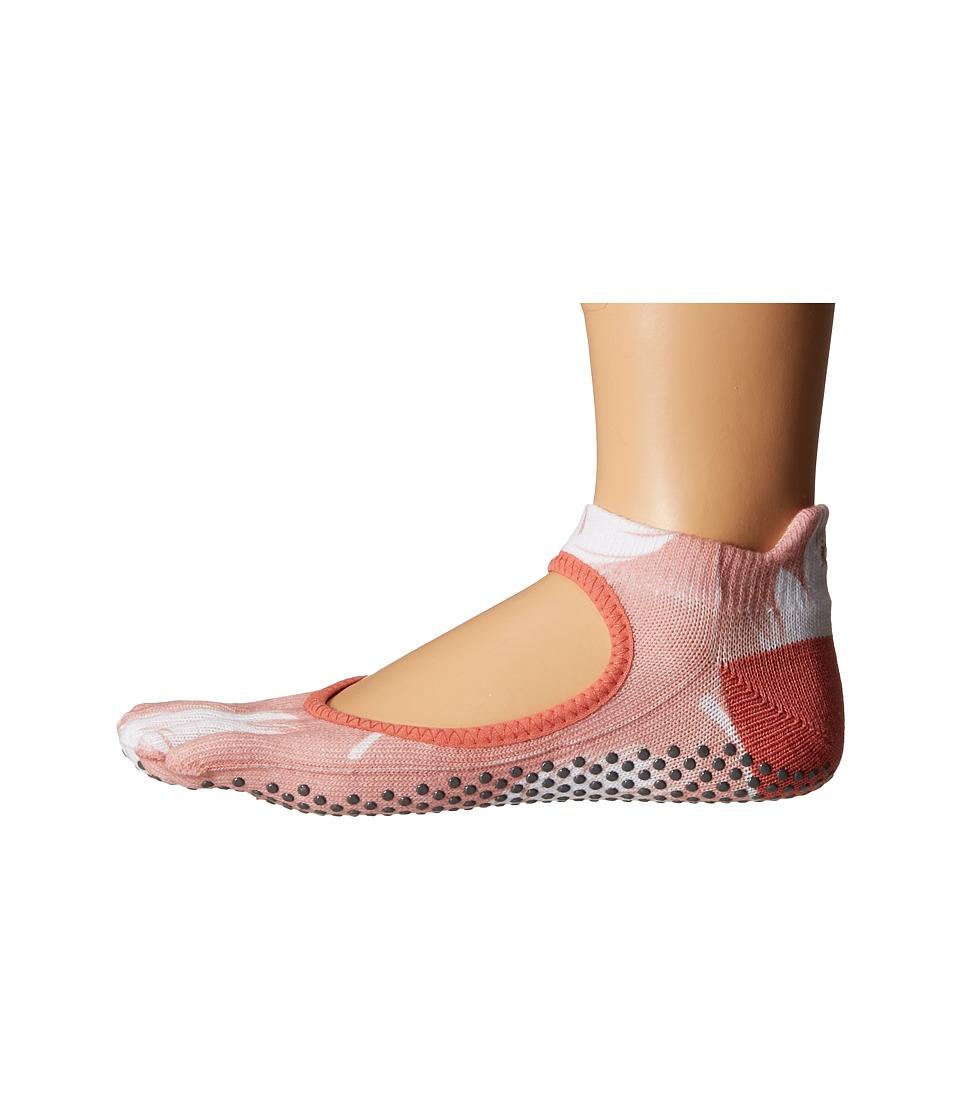 toesox - Bellarina Full Toe w/ Grip (Trance) Women's Crew Cut Socks Shoes