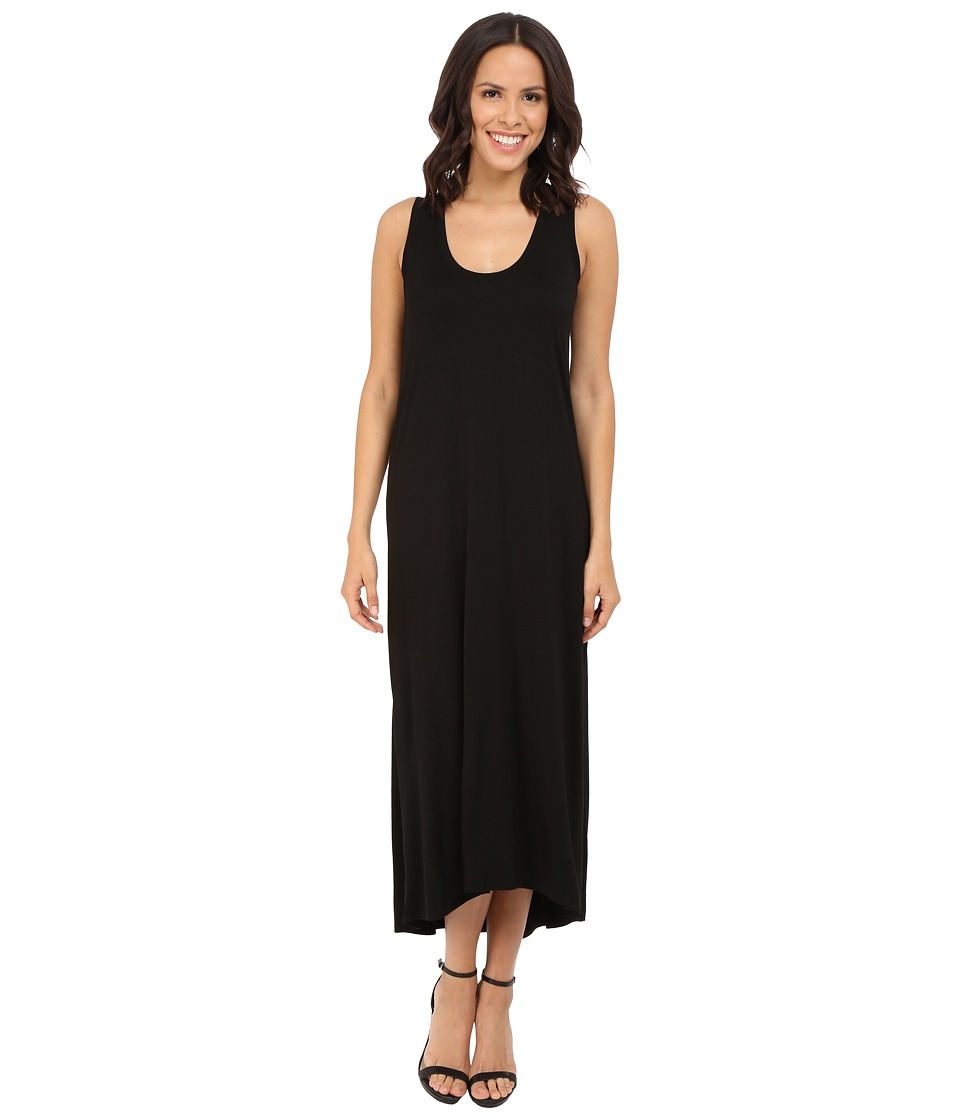 Three Dots Nikki Sleeveless Maxi Dress (Black) Women