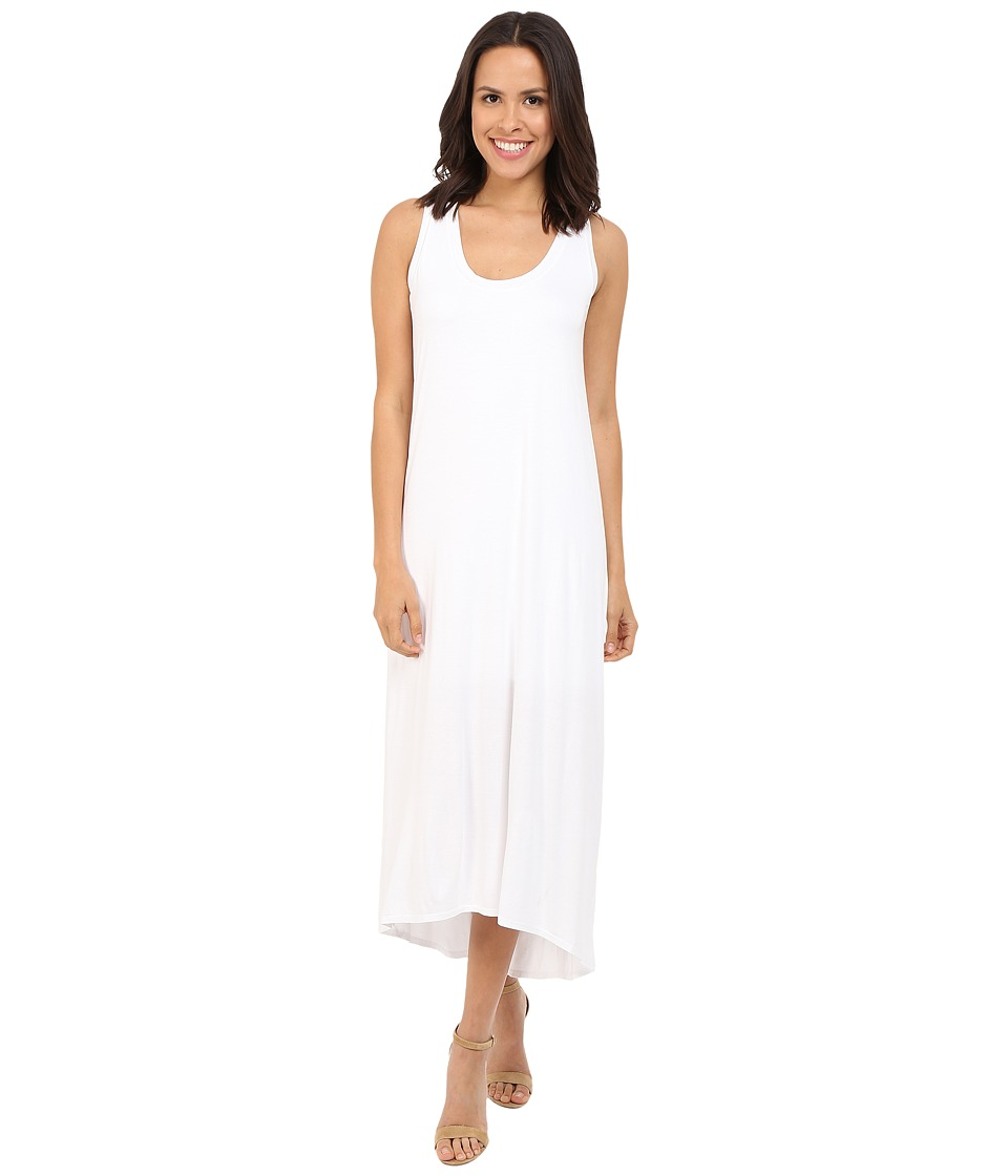 Three Dots - Nikki Sleeveless Maxi Dress (White) Women's Dress