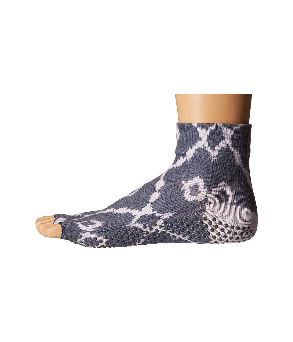 toesox - Ankle Half Toe w/ Grip (Haze) Women's Quarter Length Socks Shoes