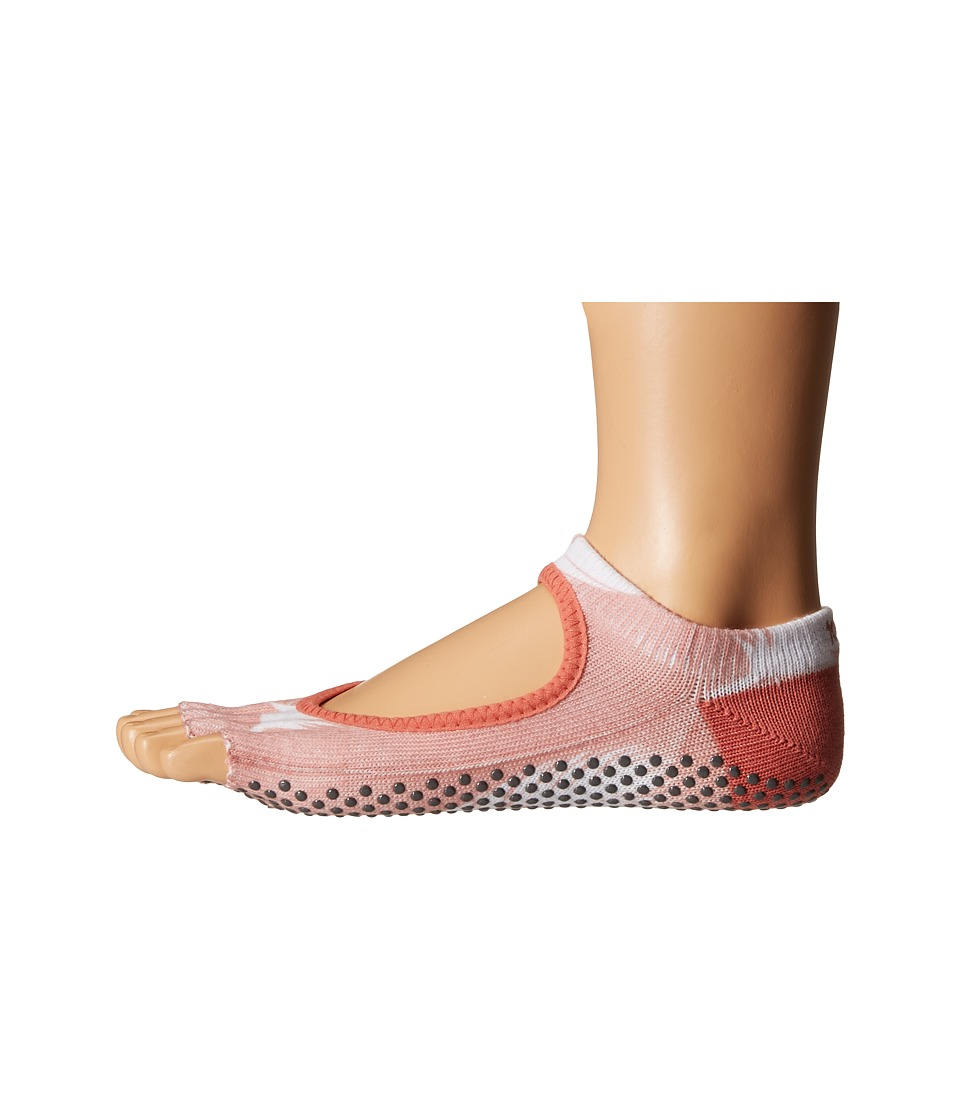 toesox - Bella Half Toe w/ Grip 1-Pair Pack (Trance) Women's Low Cut Socks Shoes