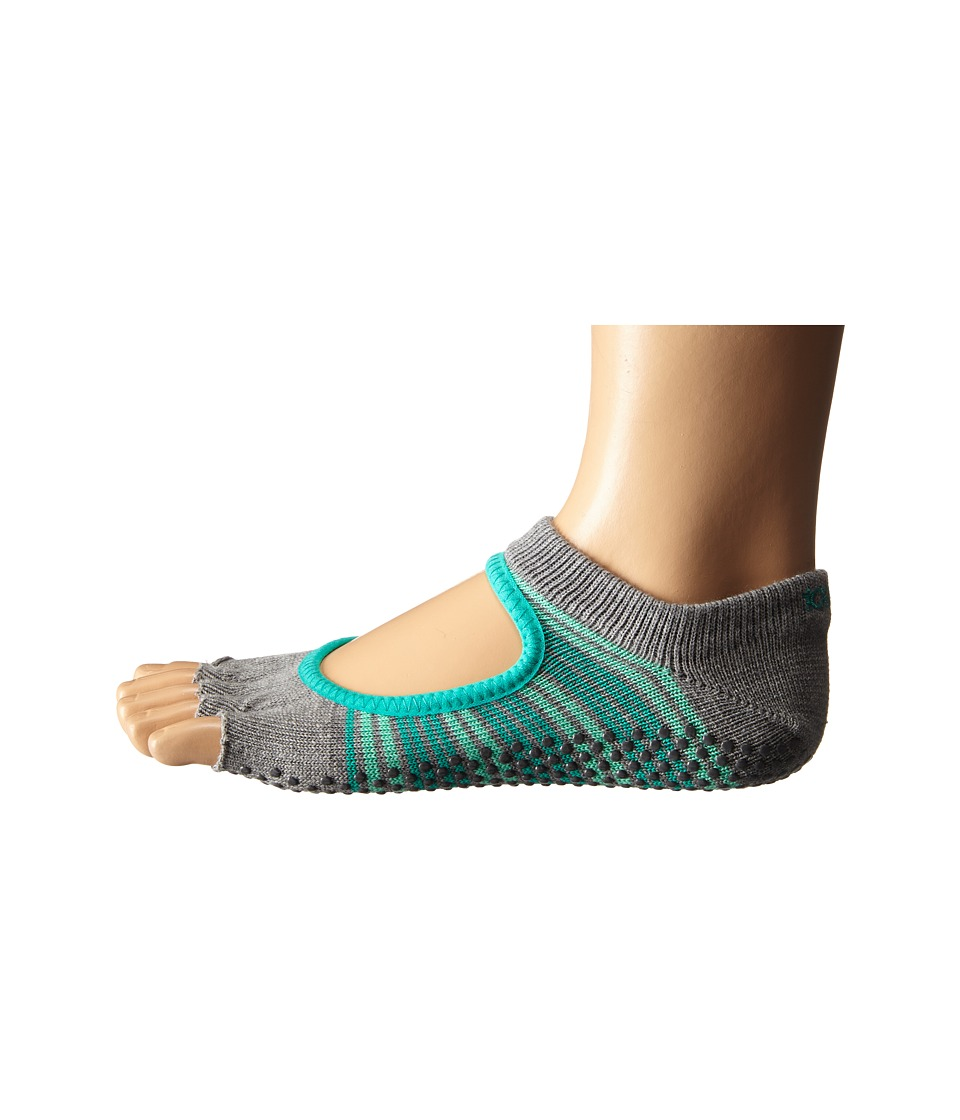 toesox - Bella Half Toe w/ Grip 1-Pair Pack (Swell) Women's Low Cut Socks Shoes