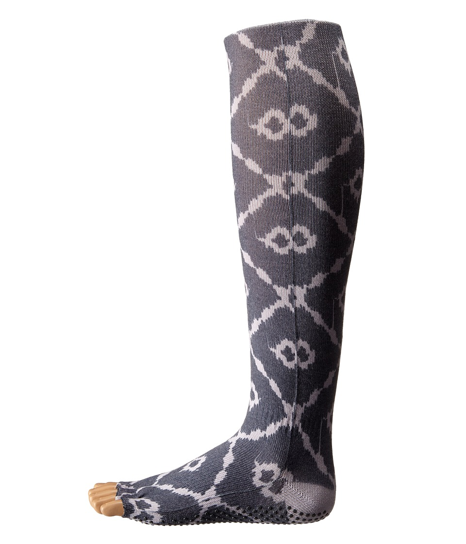 toesox - Grip Half Toe Scrunch (Haze) Women's Knee High Socks Shoes