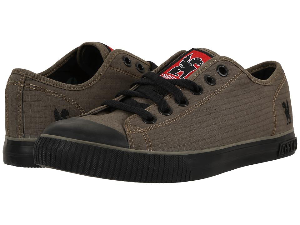 Chrome - Kursk Box Canvas (Olive/Black) Men's Shoes