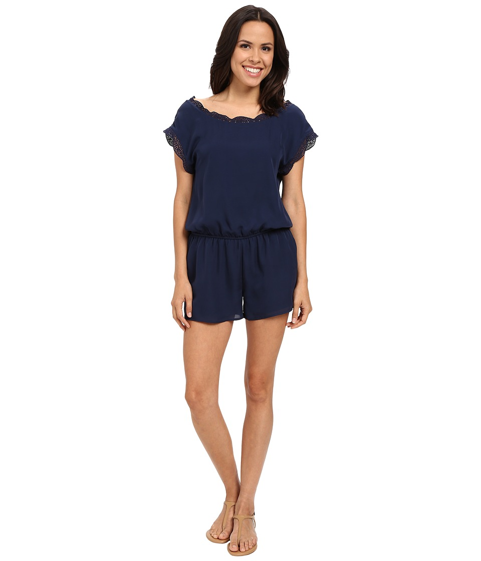 Joie - Paolla 2099-R1309 (Dark Navy) Women's Jumpsuit & Rompers One Piece