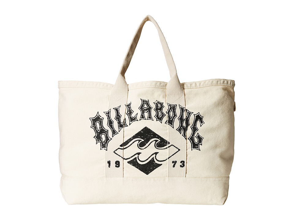 Billabong - Never Over Tote (White Cap) Tote Handbags