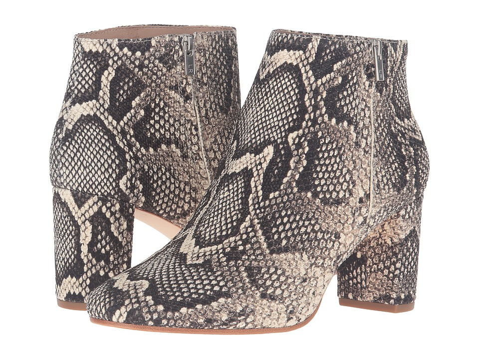 Loeffler Randall Greer (Graphite Python Embossed Leather) Women