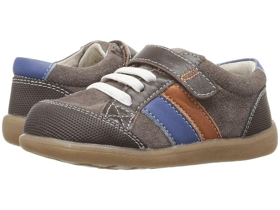 See Kai Run Kids - Randall (Toddler) (Brown/Blue/Orange) Boy's Shoes