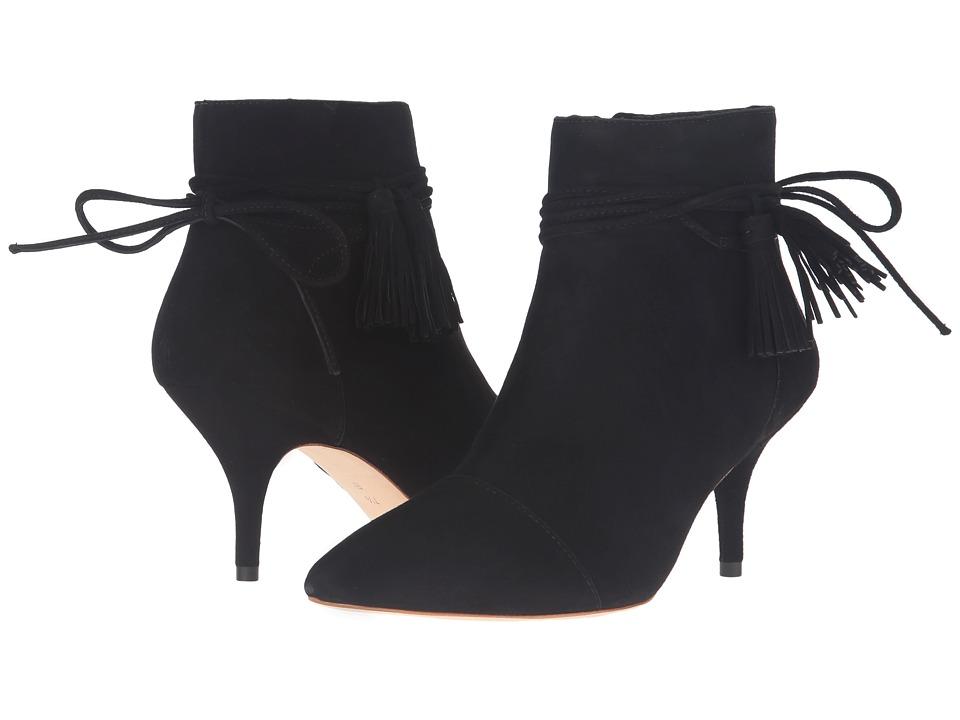 Loeffler Randall - Ange (Black Kid Suede) Women's Shoes
