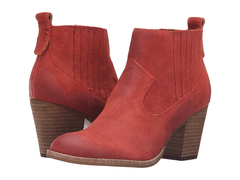Dolce Vita - Jones (Red Suede) Women's Boots