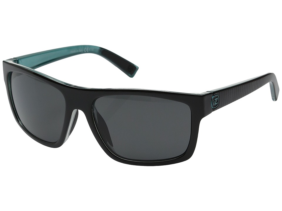 VonZipper - Speedtuck (Lux Black Mint/Grey) Sport Sunglasses