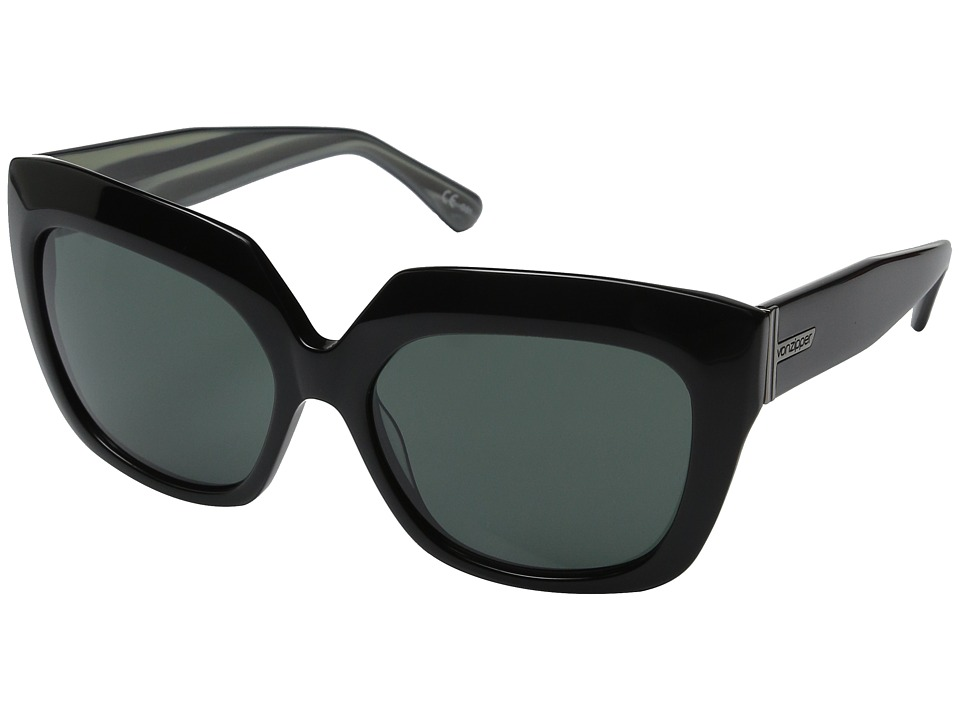 VonZipper - Poly (Black Swirl/Vintage Grey) Sport Sunglasses