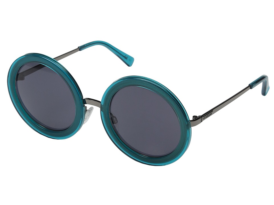 VonZipper - Fling (Blue Translucent/Charcoal Grey) Sport Sunglasses