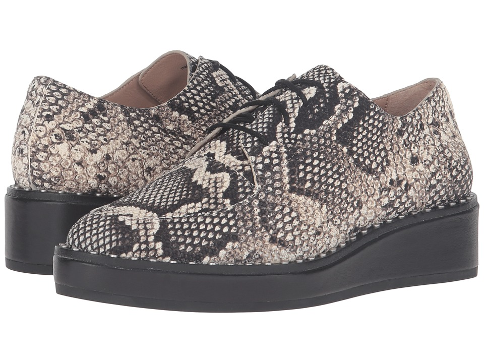 Loeffler Randall - Frances (Graphite Python Embossed Leather) Women's Shoes
