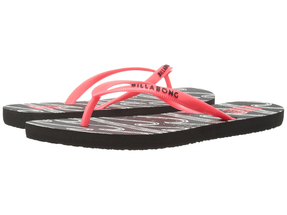Billabong - Dama (Neon Coral) Women's Sandals