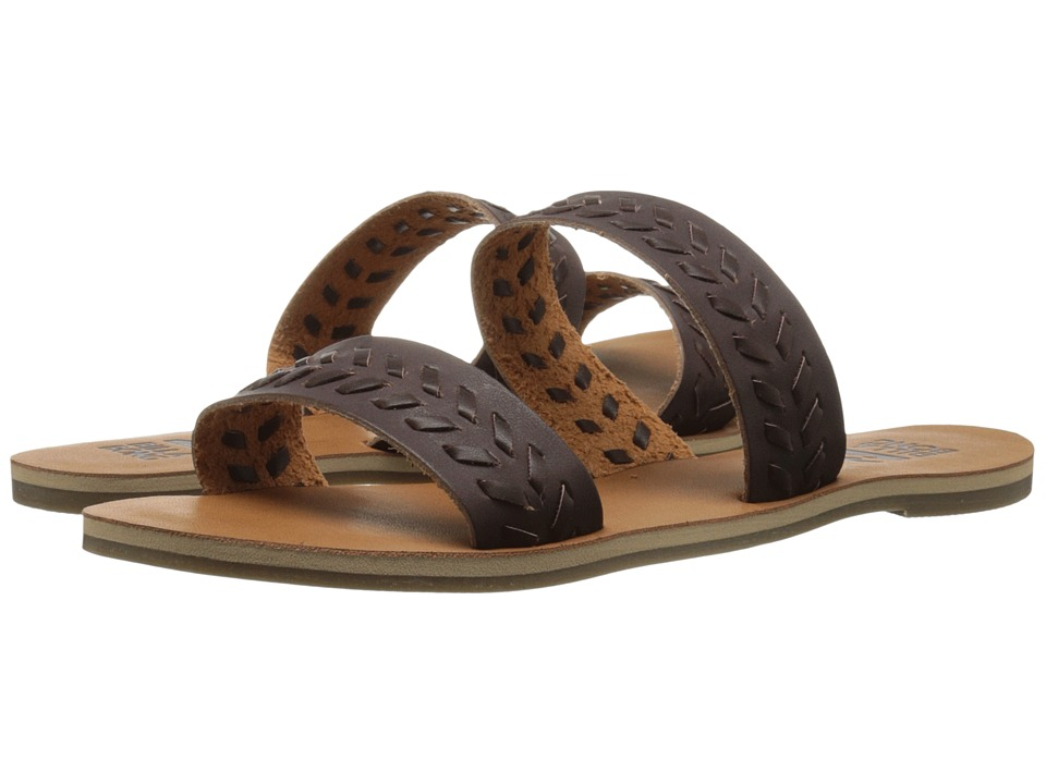 Billabong - Hypnotic Soul Sandal (Espresso) Women's Sandals