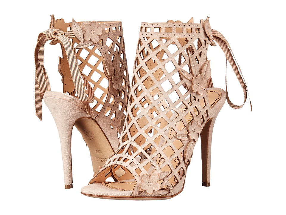 Marchesa Edith (Nude Suede) High Heels