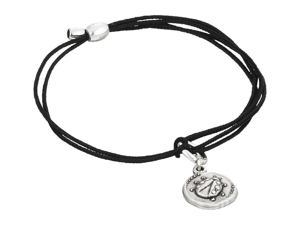 Alex and Ani - Kindred Cord Ladybug Bracelet (Rafaelian Silver) Bracelet