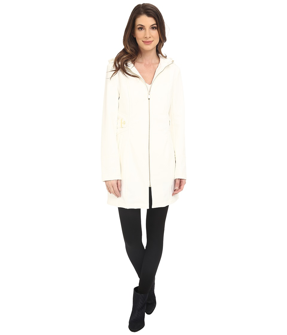Via Spiga - Center Zip Softshell Jacket (Summer White) Women