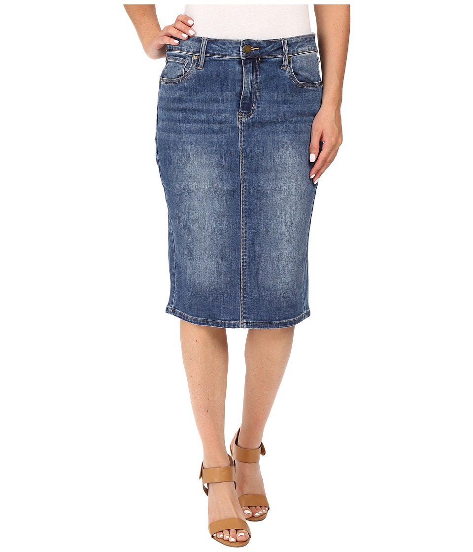 Calvin Klein Jeans - Essential Pencil Skirt (Bardot Blue) Women's Skirt