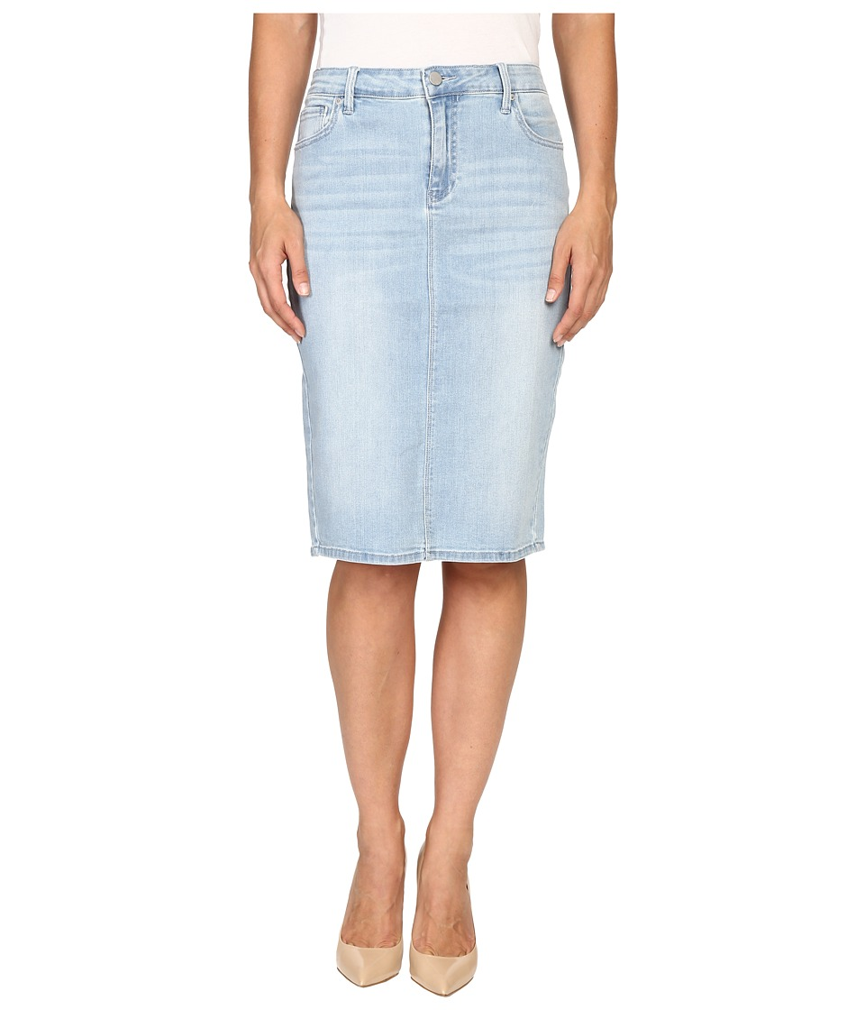 Calvin Klein Jeans - Essential Pencil Skirt (Faded Sky) Women's Skirt