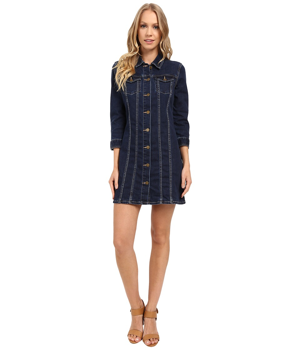 Calvin Klein Jeans - PF Trucker Dress (Authentic Indigo) Women's Dress
