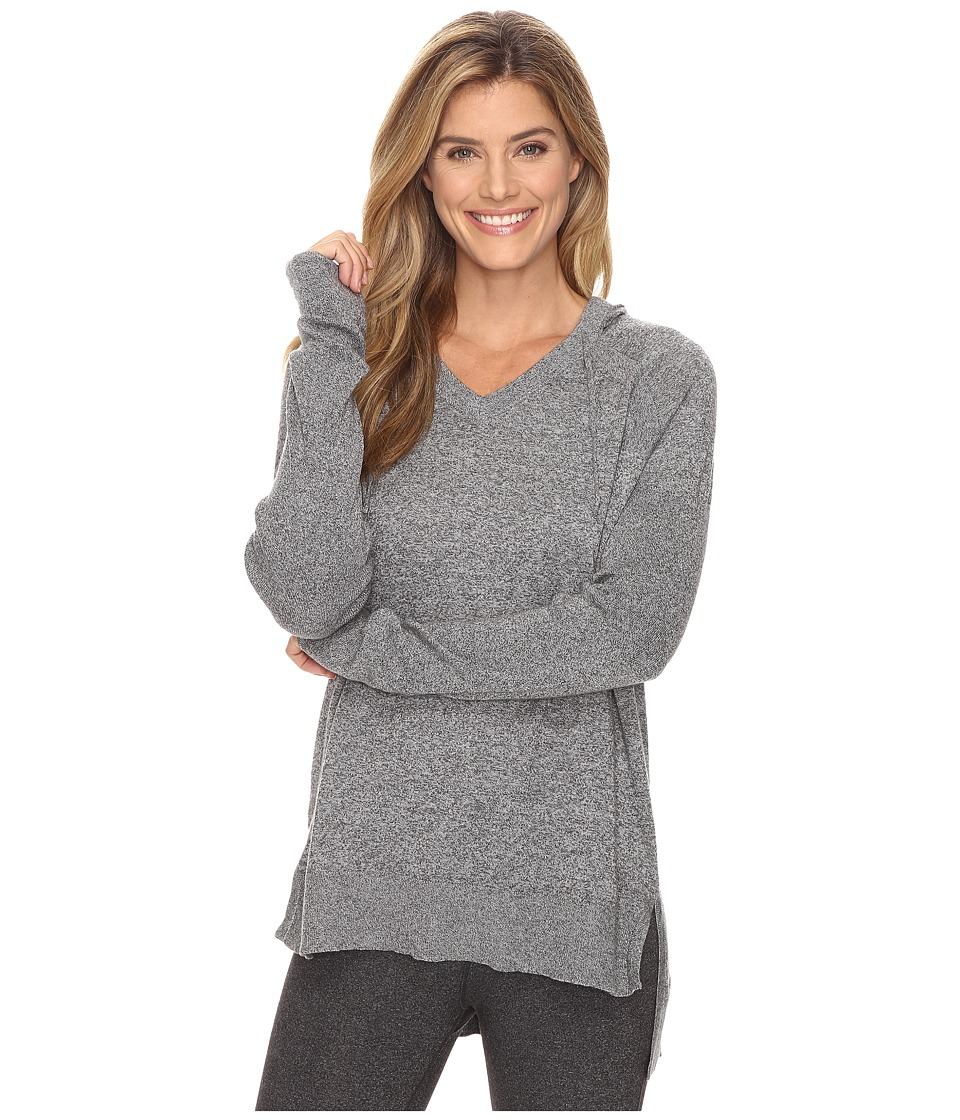 Lucy - Meet The Mat Hoodie (Light Asphalt Heather) Women's Sweatshirt