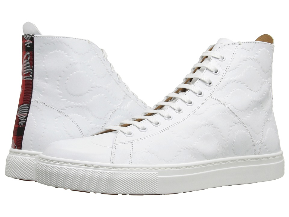 Vivienne Westwood - High Top Trainer (White) Men's Lace up casual Shoes