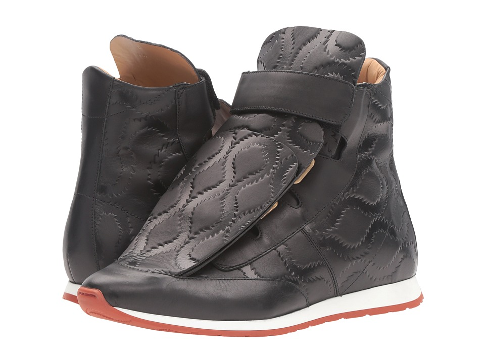 Vivienne Westwood - 3 Tongue Trainer (Black) Men's Shoes