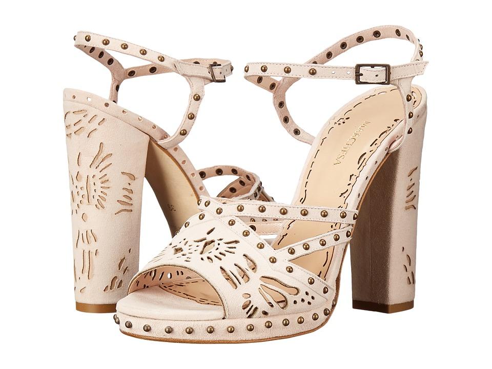Marchesa Amber (Nude Suede) High Heels