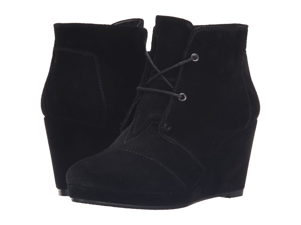 Blondo - Paige Waterproof (Black Suede) Women