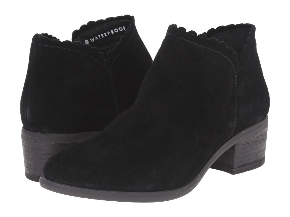 Blondo - Mae Waterproof (Black Suede) Women