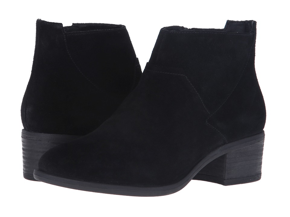 Blondo - Maddie Waterproof (Black Suede) Women