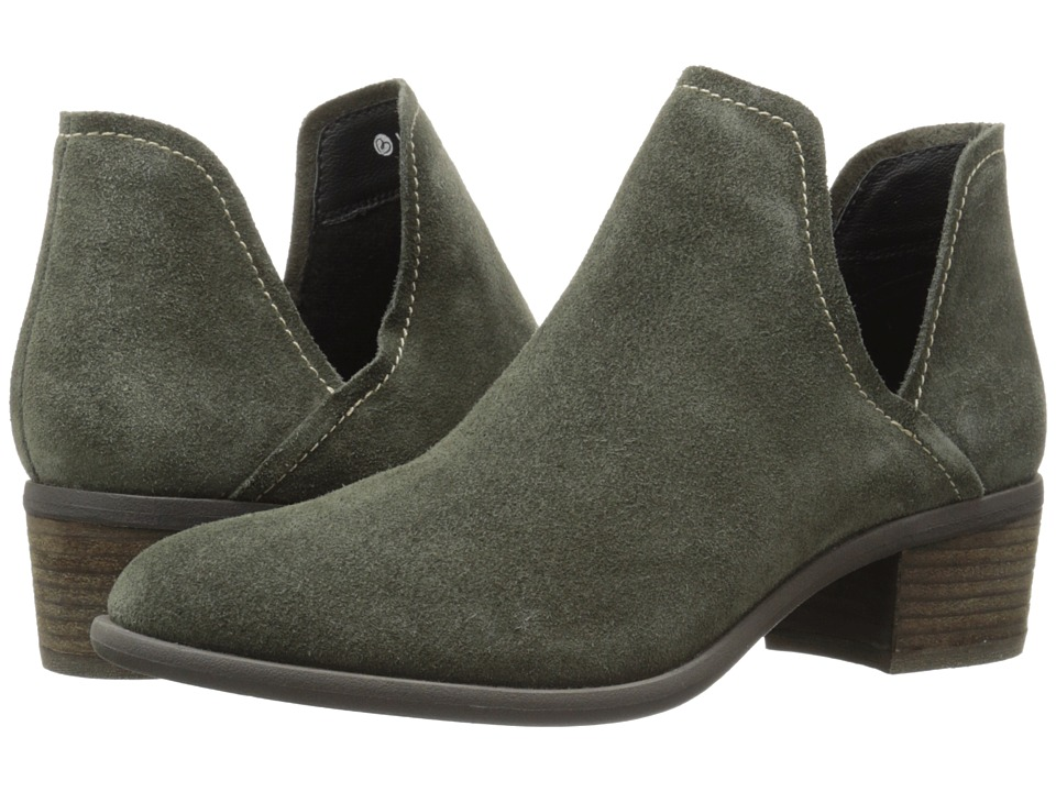 Blondo - Marcella Waterproof (Olive Suede) Women
